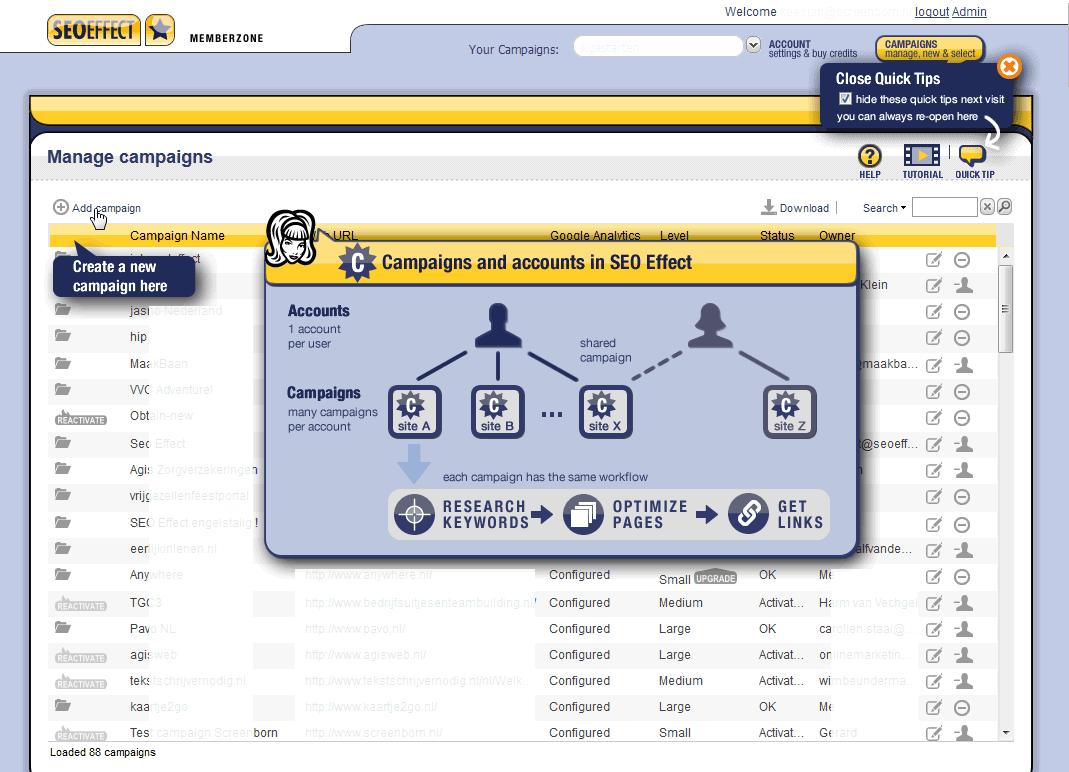 start campaign seo effect Продвижение Сайта В Яндексе. Как Бесплатно Продвинуть Сайт В Яндексе?