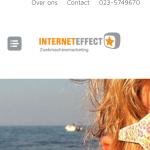 Screenshot InternetEffect iphone 4- ingeklapt menu